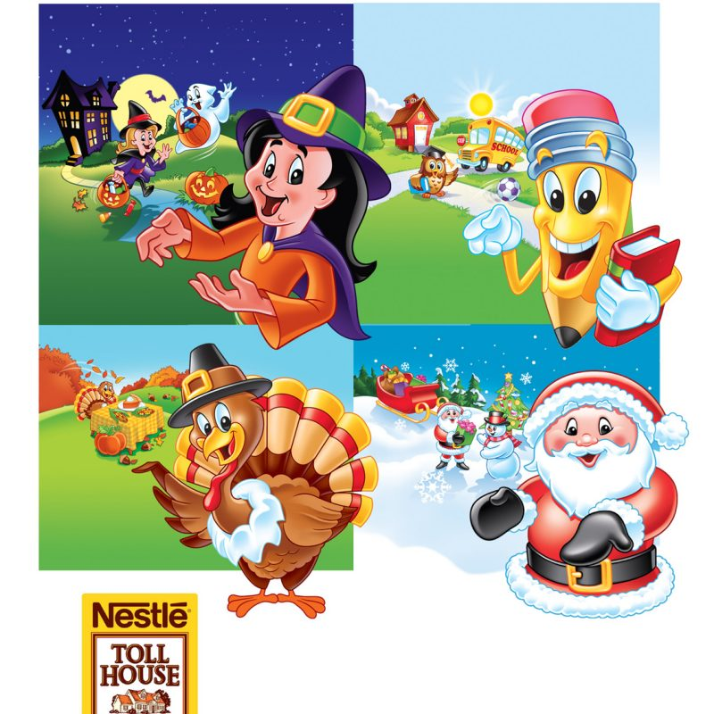 Nestle Toll House characters