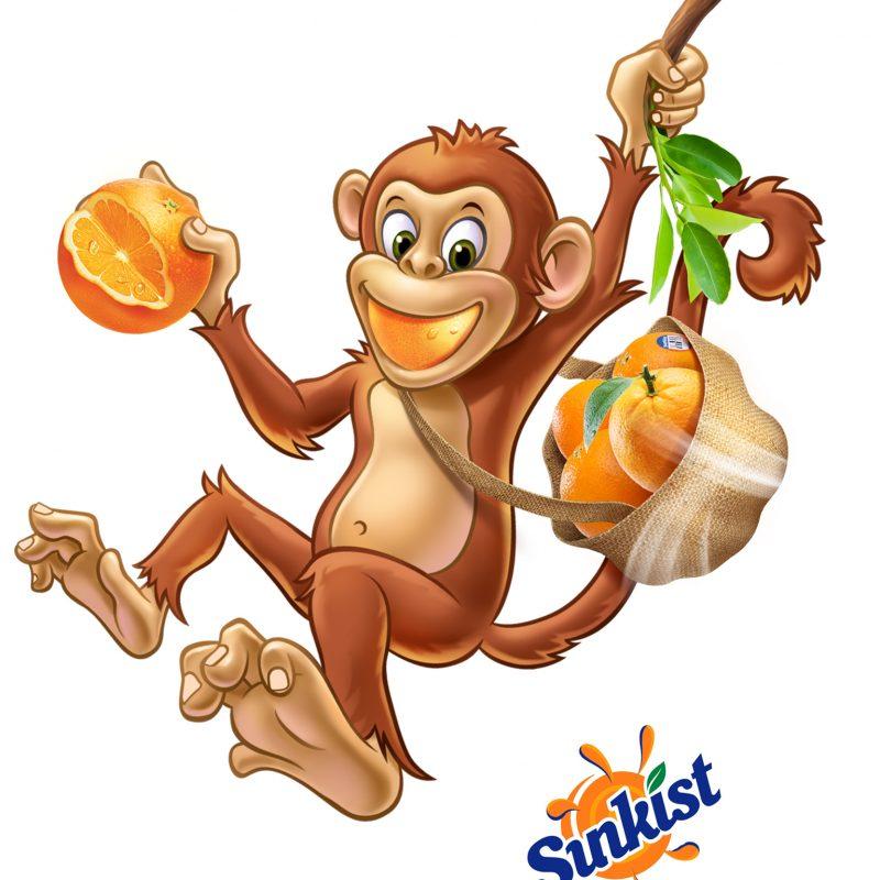 Sunkist monkey
